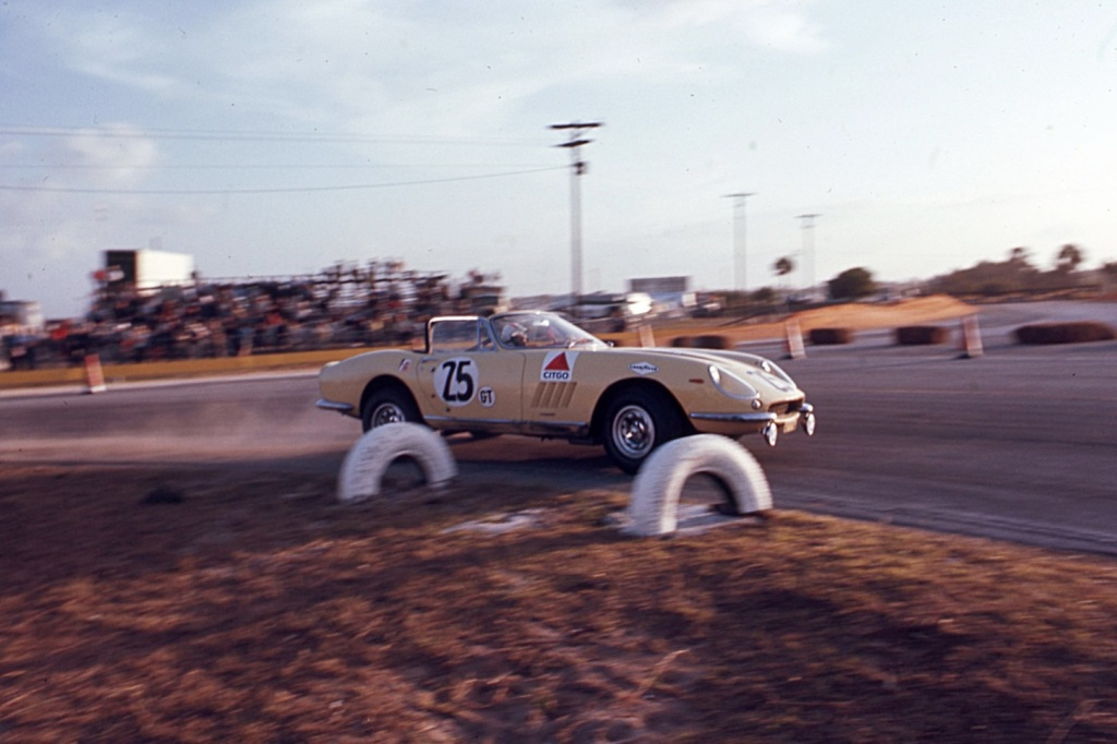 McCluggage and Rollo ran a Ferrari at Sebring in 1967.